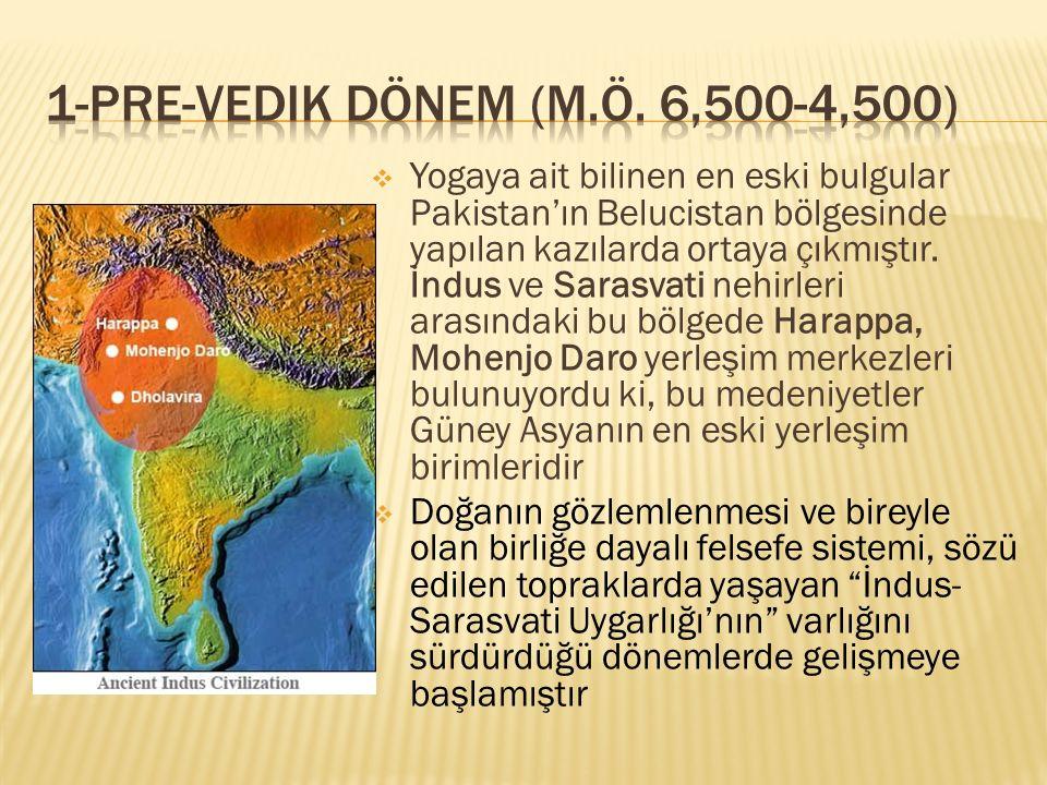 1-PrE-vedik Dönem (M.Ö. 6,500-4,500)