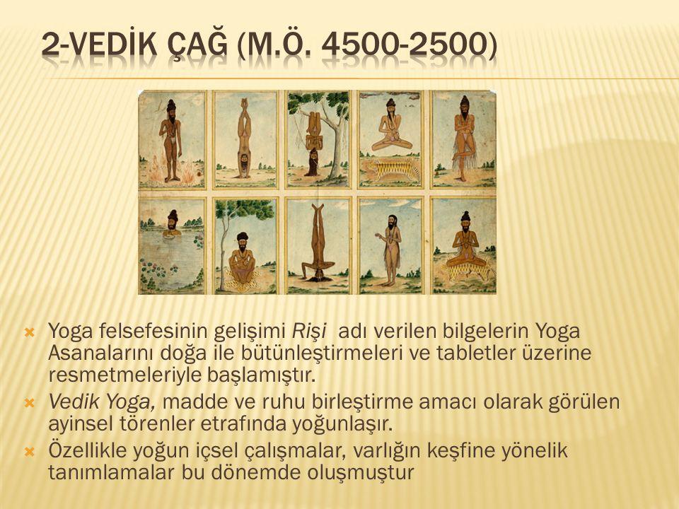 2-VEDİK ÇAĞ (M.Ö. 4500-2500)