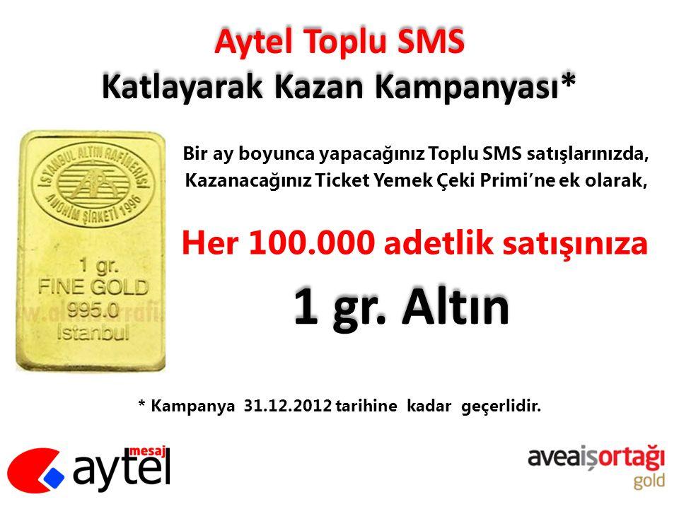 Aytel Toplu SMS Katlayarak Kazan Kampanyası*