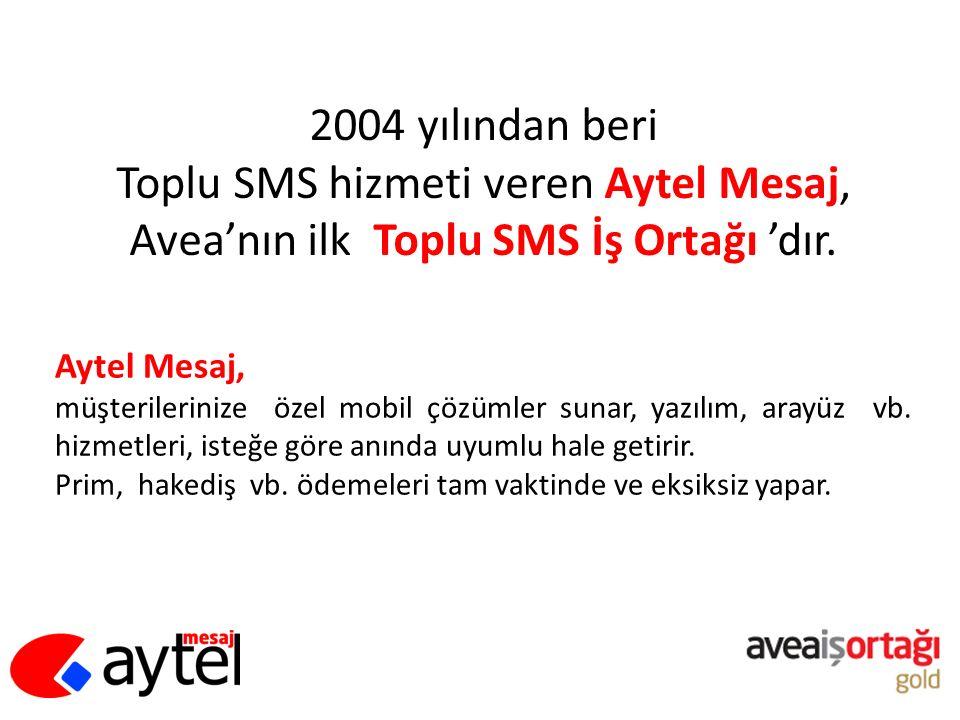 Toplu SMS hizmeti veren Aytel Mesaj,