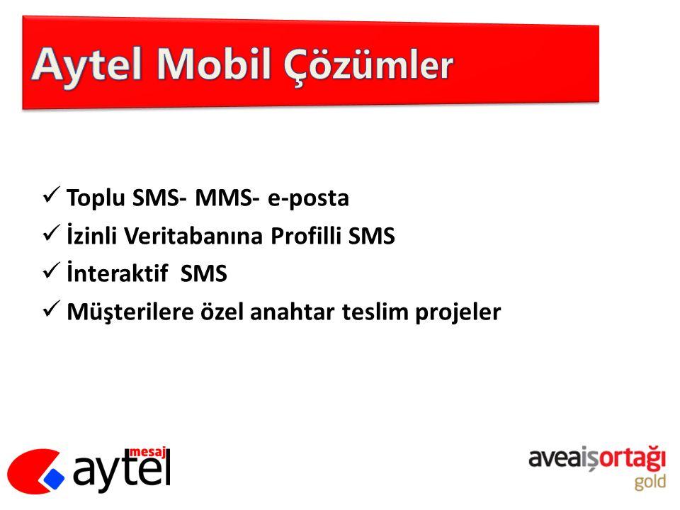 Aytel Mobil Çözümler Toplu SMS- MMS- e-posta