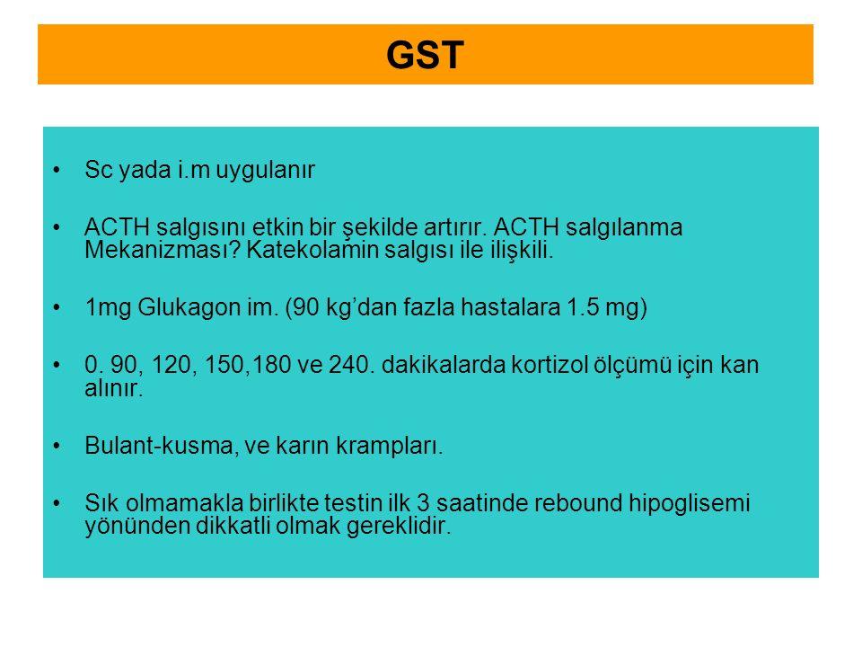 GST Sc yada i.m uygulanır