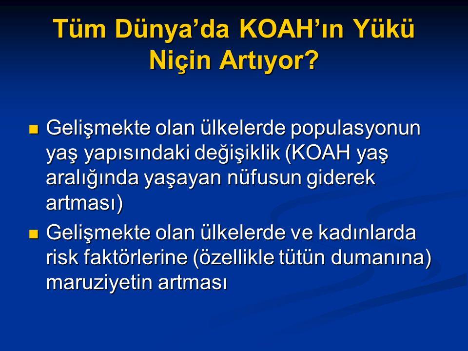 Tüm Dünya'da KOAH'ın Yükü Niçin Artıyor