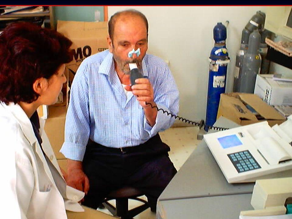 Sağlıklı Erişkin ve KOAH'lı Hastada Spirometri
