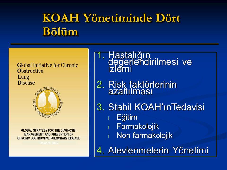 KOAH Yönetiminde Dört Bölüm