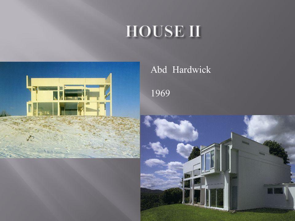 HOUSE II Abd Hardwick 1969