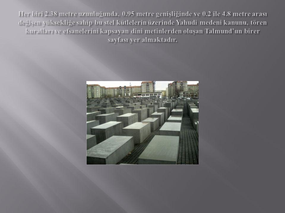 Her biri 2. 38 metre uzunluğunda, 0. 95 metre genişliğinde ve 0