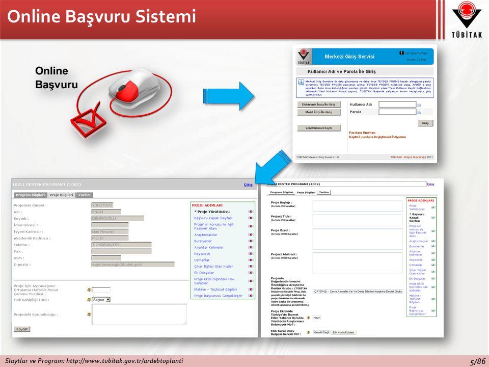 Online Başvuru Sistemi