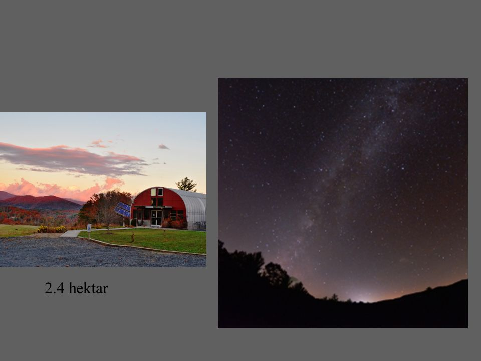 2.4 hectatres of land in the Blue Ridge Mountains of western North Carolina have been recognized by IDA as the first International Dark Sky Park in the southeastern United States.