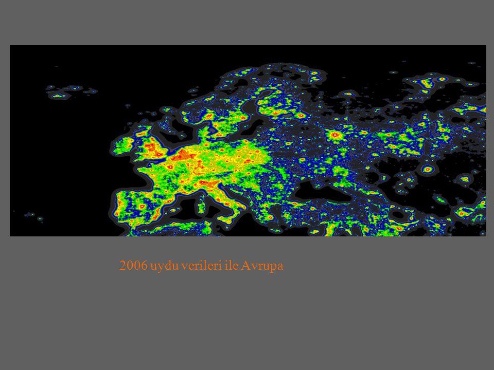 2006 uydu verileri ile Avrupa