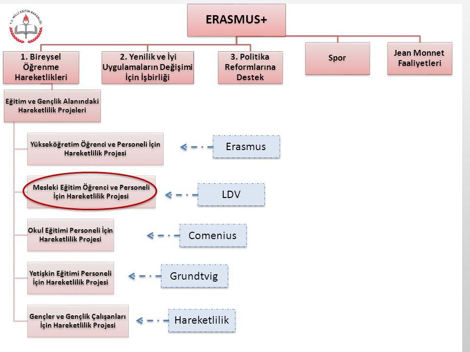 ERASMUS+ Erasmus LDV Comenius Grundtvig Hareketlilik