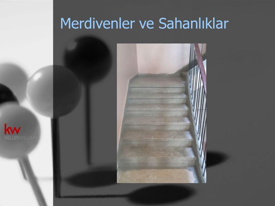 Merdivenler ve Sahanlıklar