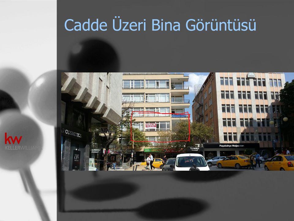 Cadde Üzeri Bina Görüntüsü