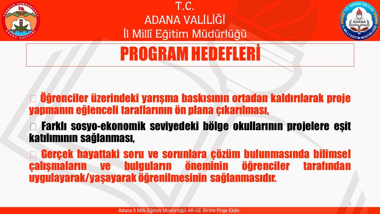 PROGRAM HEDEFLERİ