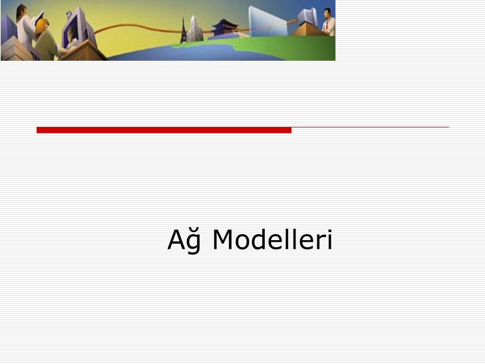 Ağ Modelleri