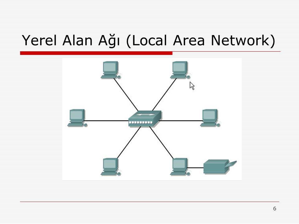Yerel Alan Ağı (Local Area Network)