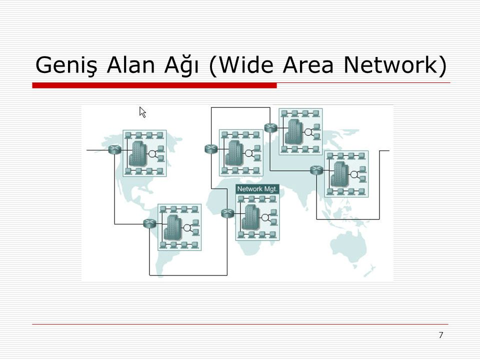 Geniş Alan Ağı (Wide Area Network)