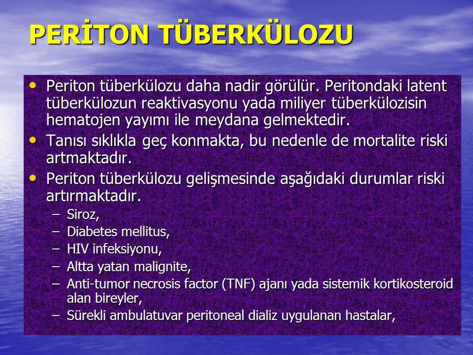 PERİTON TÜBERKÜLOZU
