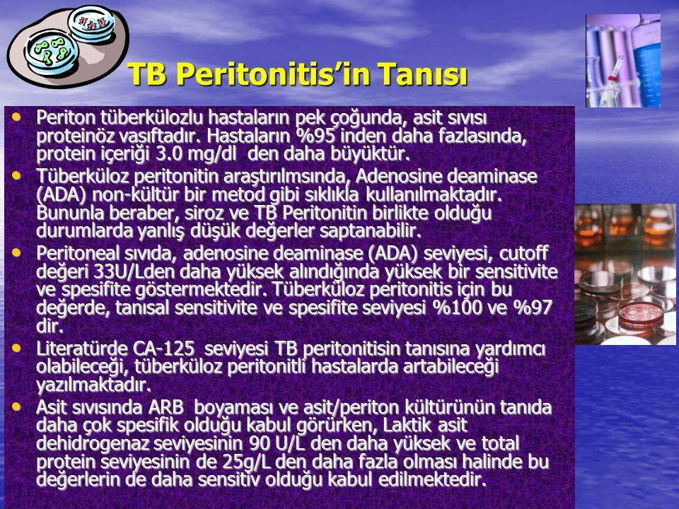 TB Peritonitis'in Tanısı