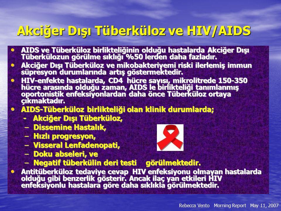 Akciğer Dışı Tüberküloz ve HIV/AIDS