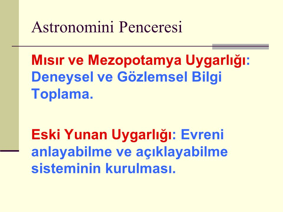 Astronomini Penceresi