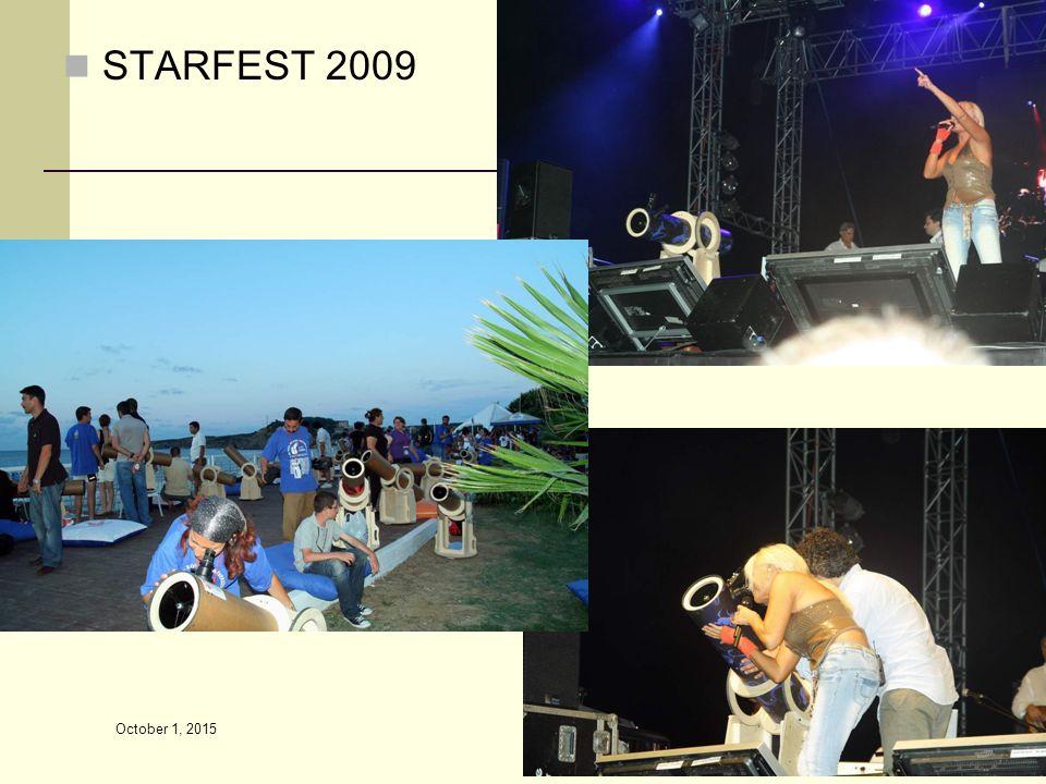 STARFEST 2009 April 22, 2017