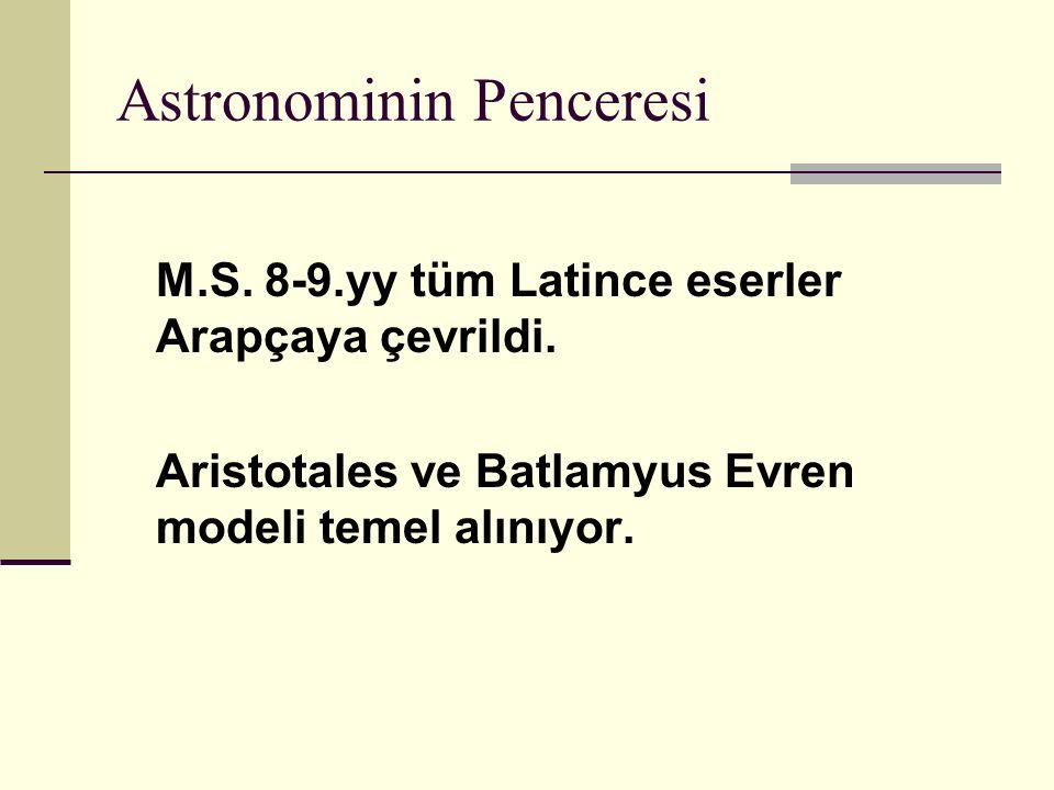 Astronominin Penceresi