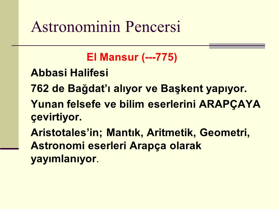 Astronominin Pencersi