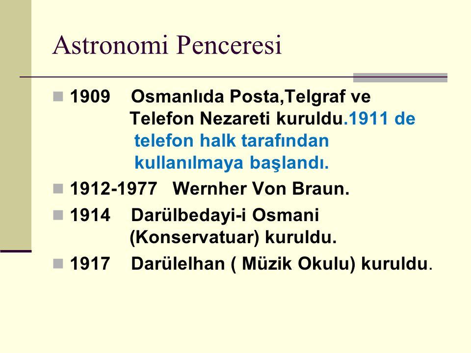 Astronomi Penceresi