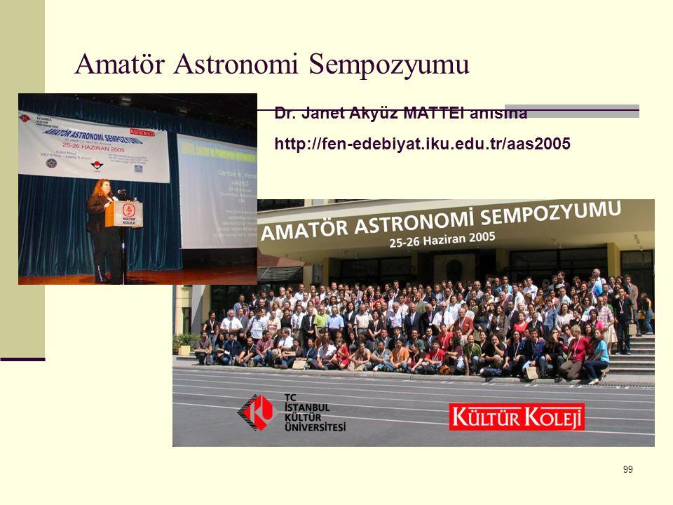 Amatör Astronomi Sempozyumu