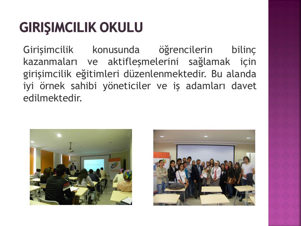 Girişimcilik okulu