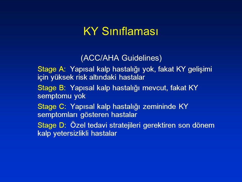 KY Sınıflaması (ACC/AHA Guidelines)