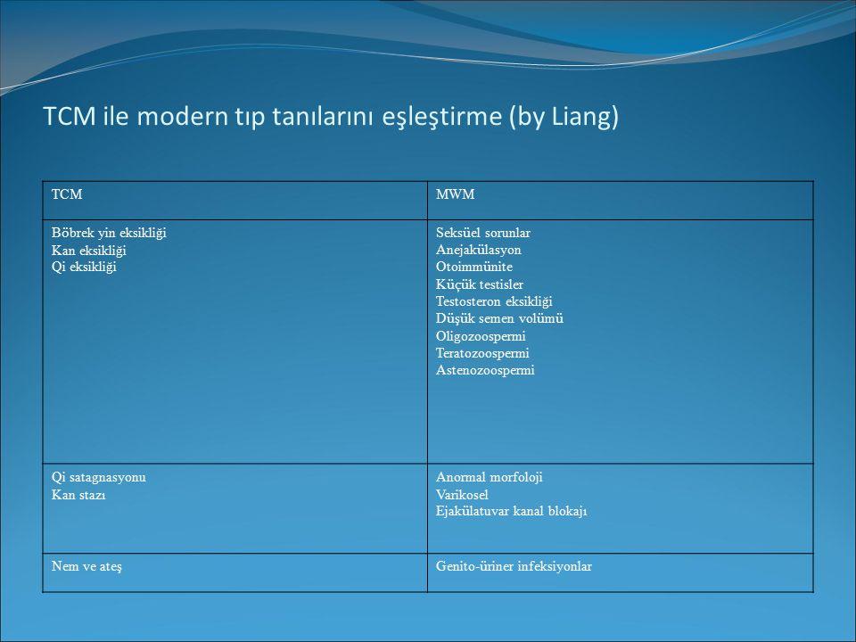 TCM ile modern tıp tanılarını eşleştirme (by Liang)