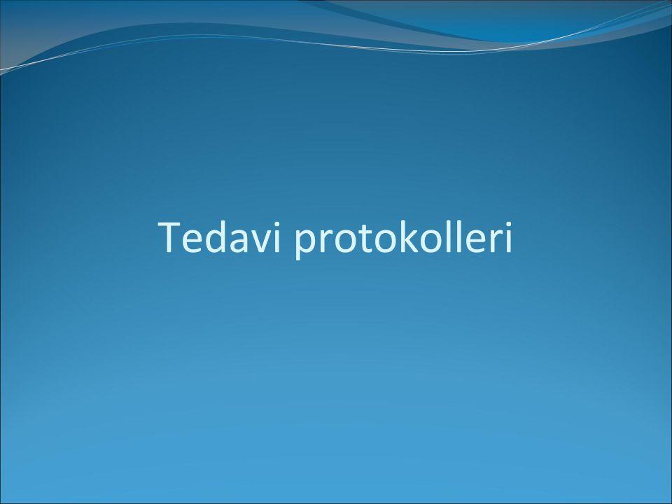 Tedavi protokolleri