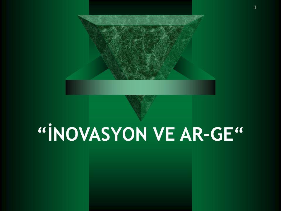 İNOVASYON VE AR-GE