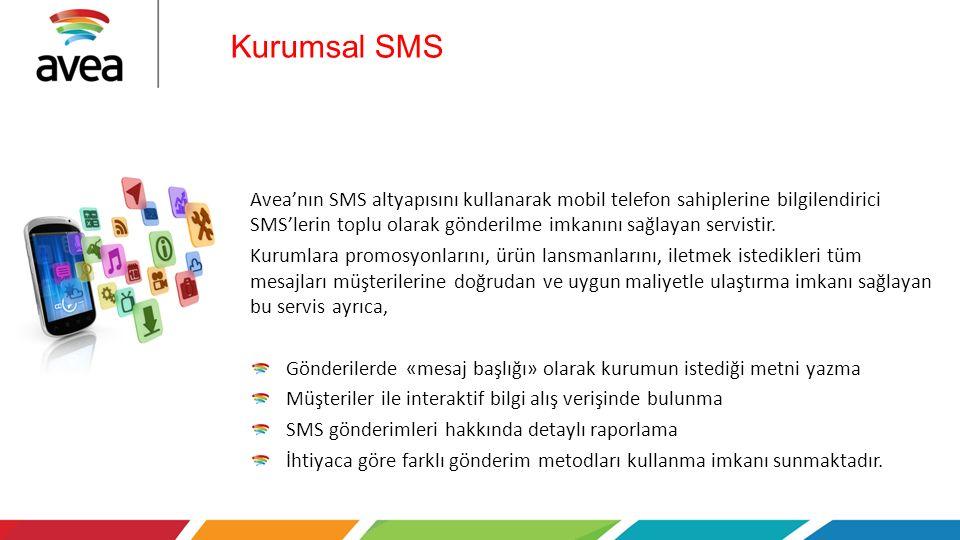 Kurumsal SMS