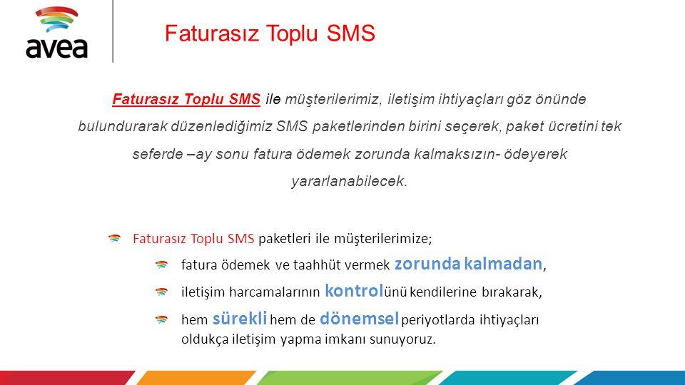 Faturasız Toplu SMS