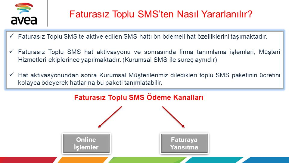 Faturasız Toplu SMS'ten Nasıl Yararlanılır
