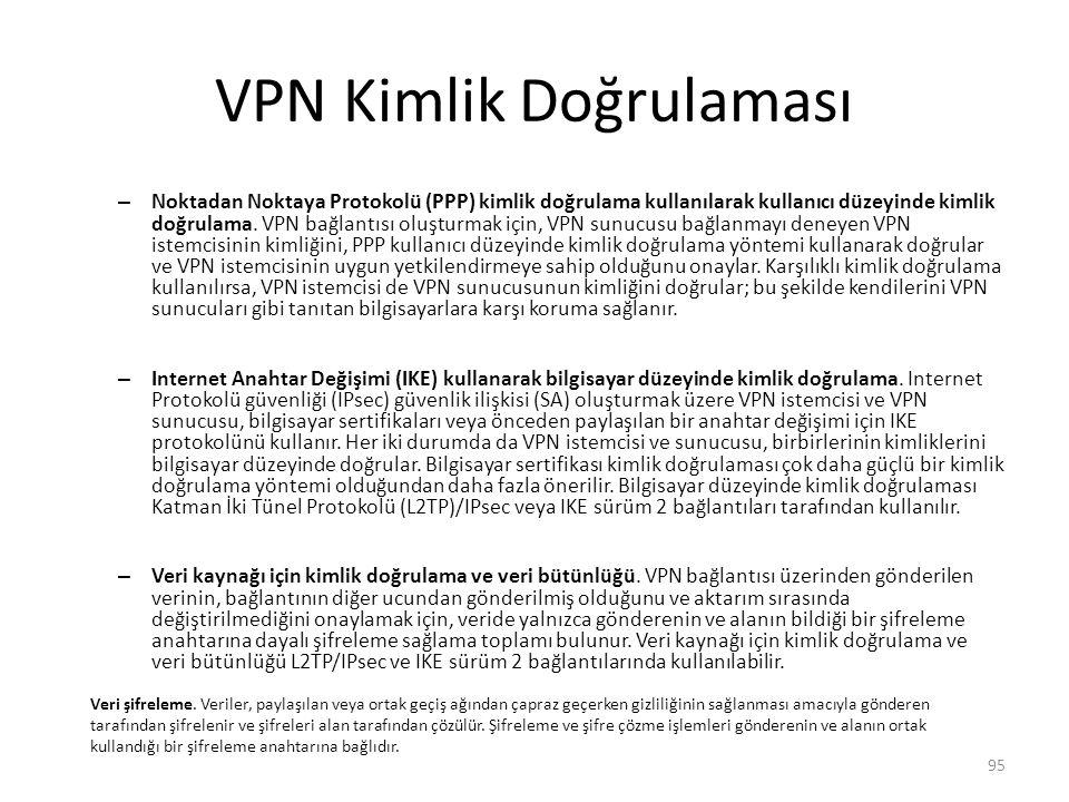 VPN Kimlik Doğrulaması