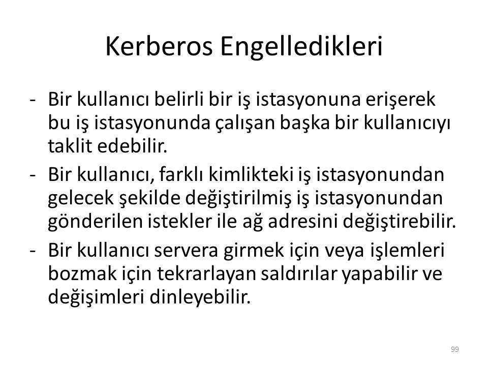 Kerberos Engelledikleri