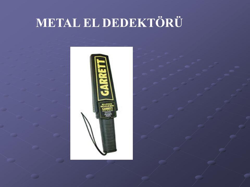 METAL EL DEDEKTÖRÜ