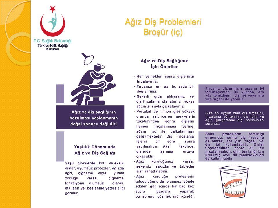 Ağız Diş Problemleri Broşür (iç)