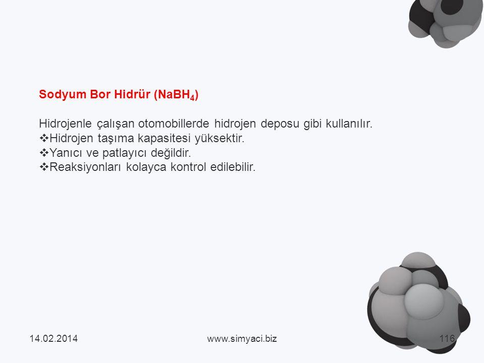 Sodyum Bor Hidrür (NaBH4)
