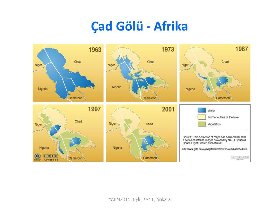 Çad Gölü - Afrika YAEM2015, Eylul 9-11, Ankara