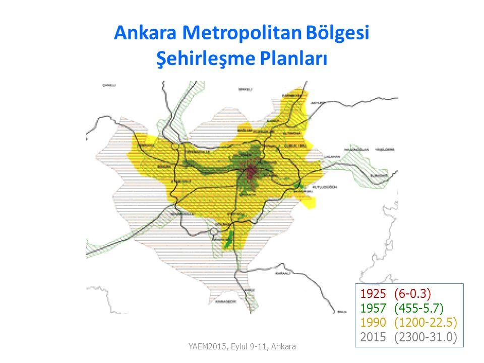 Ankara Metropolitan Bölgesi Şehirleşme Planları