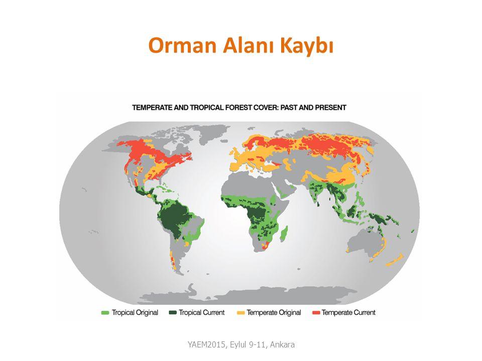Orman Alanı Kaybı YAEM2015, Eylul 9-11, Ankara