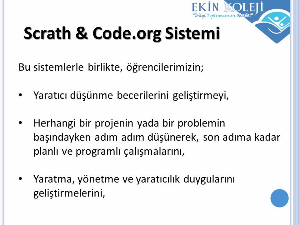 Scrath & Code.org Sistemi