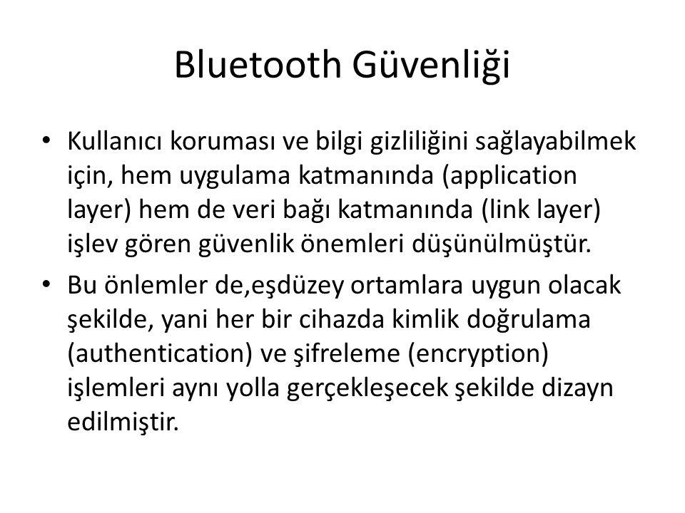 Bluetooth Güvenliği
