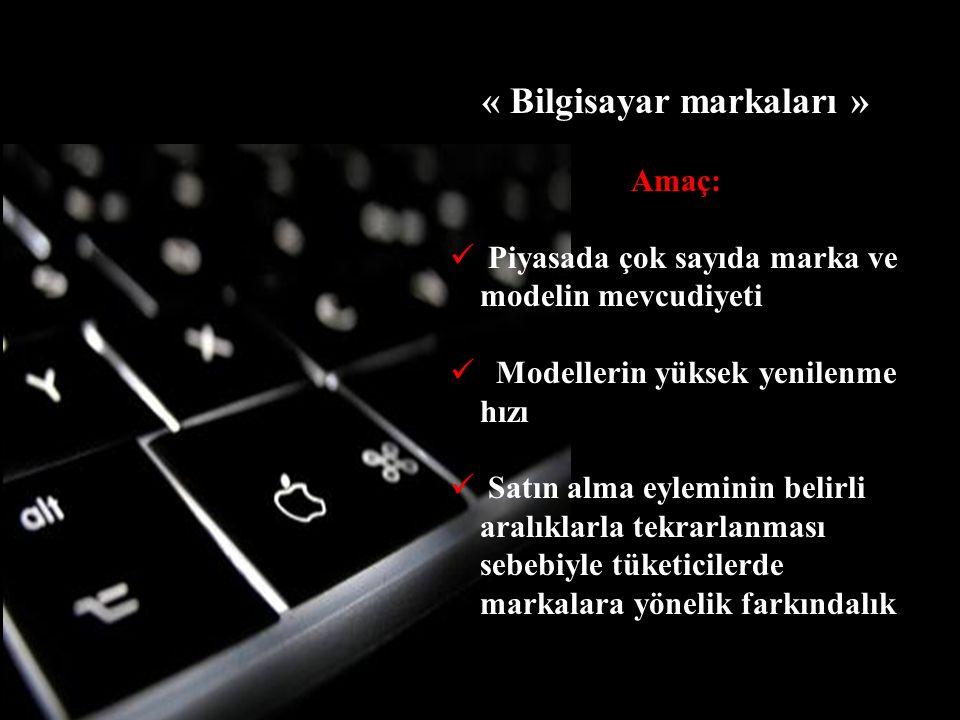 « Bilgisayar markaları »