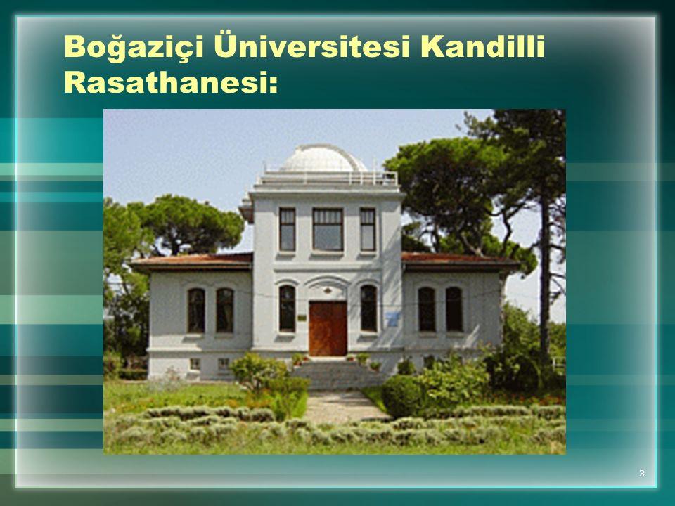 Boğaziçi Üniversitesi Kandilli Rasathanesi: